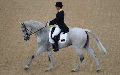 Rio Olympic Eventing team on course as dressage concludes