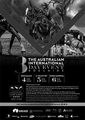 2016 Australian 3 Day Event Flyer