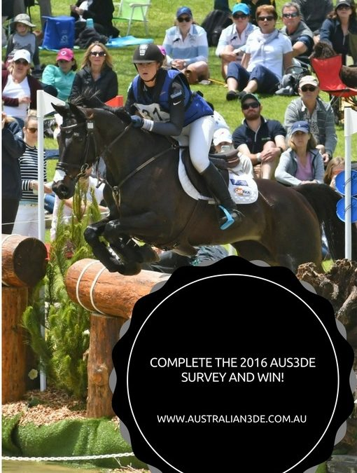 Complete the 2016 Aus3de Survey for your chance to win!