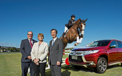 MITSUBISHI MOTORS PARTNERS WITH AUSTRALIAN INTERNATIONAL 3-DAY EQUESTRIAN EVENT