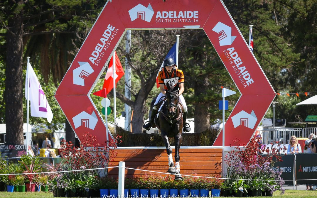 Samuel Jeffree and Jaybee Calypso lead the  2 star after Cross Country phase
