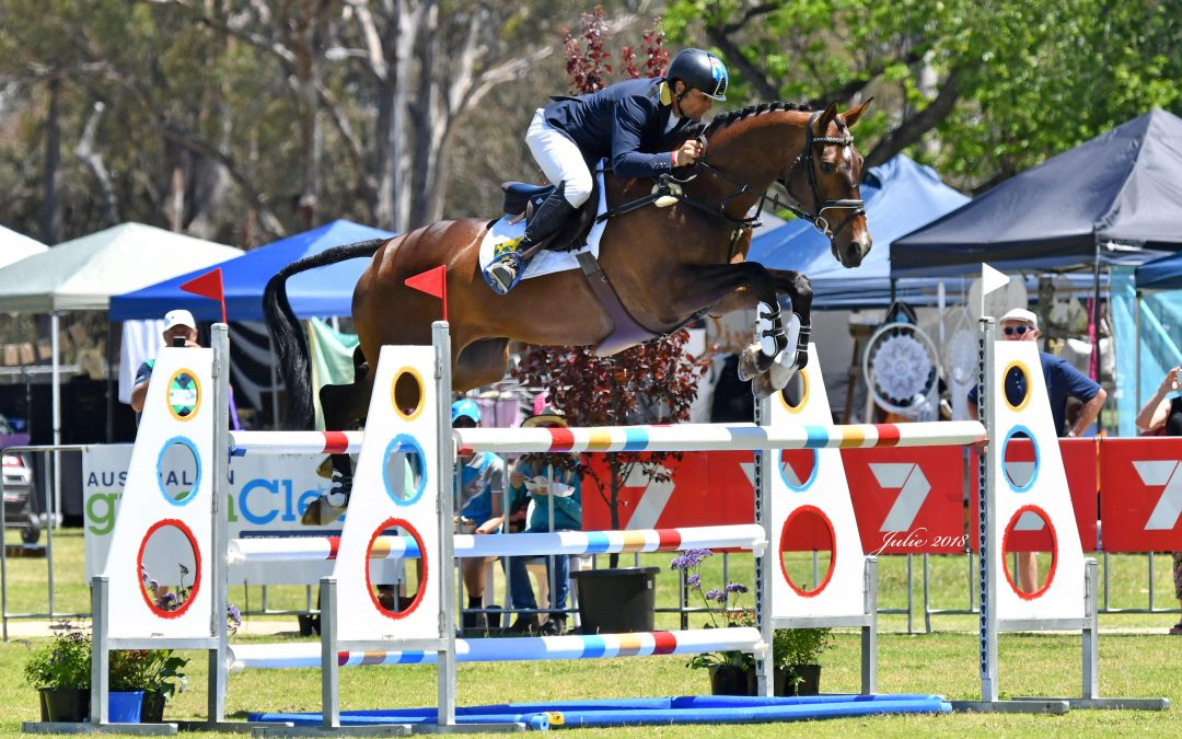 Olympic Silver Medallist Shane Rose takes a second victory in the CCI3*